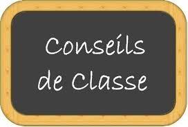 Conseils de classe 3ème trimestre - 1res