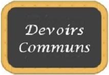 DS communs 3ème trimestre - Collège - 4e